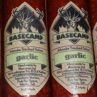 Smoked Venison Salami - Garlic